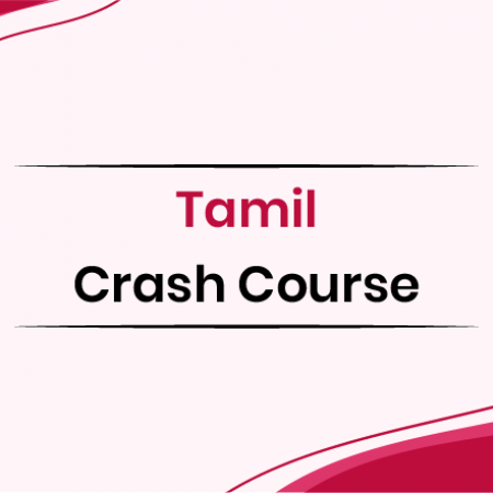 Tamil Crash Course