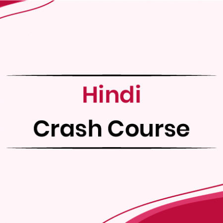 Hindi Crash Course