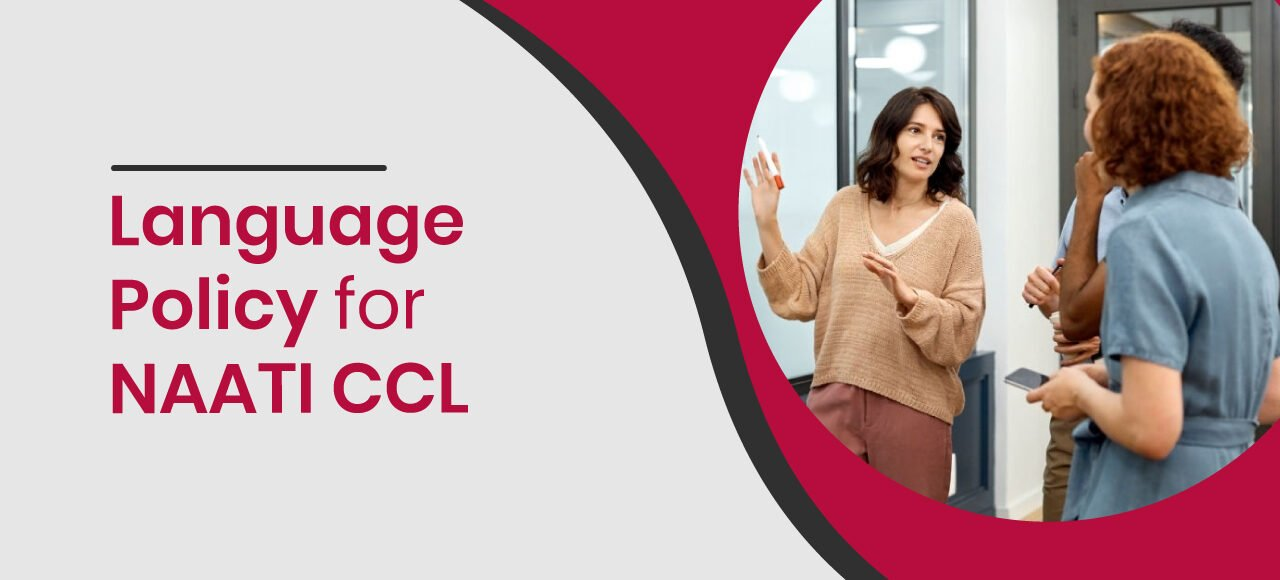 language policy for naati ccl